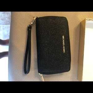 Authentic MK Wristlet